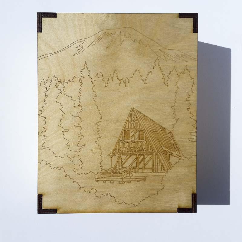 Mt. St. Helens Cabin Box
