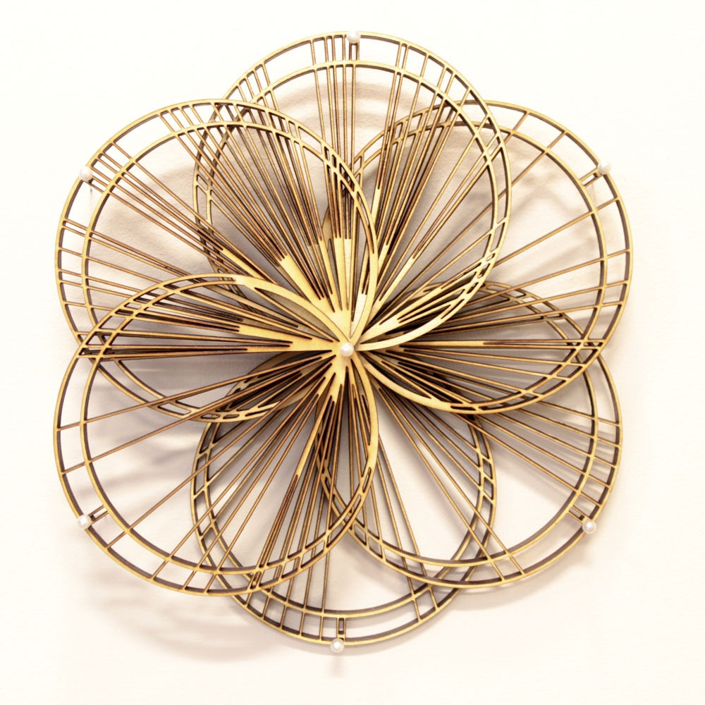 Radial Book/Wall Sculpture
